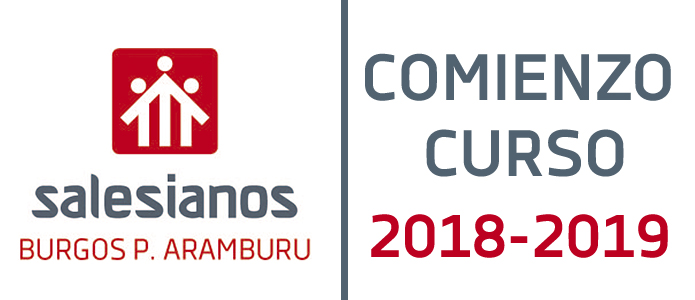 COMIENZO CURSO 2018/2019