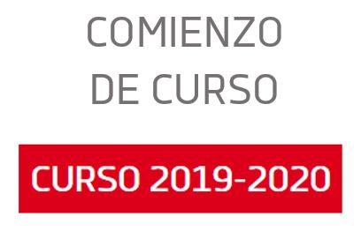 COMIENZO CURSO 2019/2020